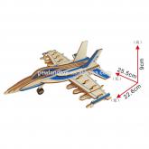 Bouwpakket Straaljager F-18 Hornet Bommenwerper