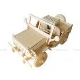 Bouwpakket Jeep met afstandbesturing