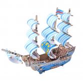 Bouwpakket Koopmansschip Droomschip- kleur