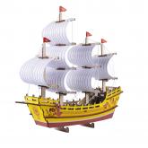 Bouwpakket Koopmansschip Zijderoute- kleur