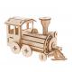 Bouwpakket Locomotief - hout