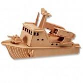 Bouwpakket Speedboot met Raket