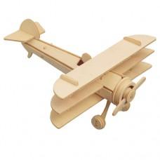 Bouwpakket Vliegtuig Driedekker
