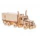 Bouwpakket Truck met Oplegger- klein