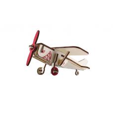 Bouwpakket Vliegtuig klein- kleur