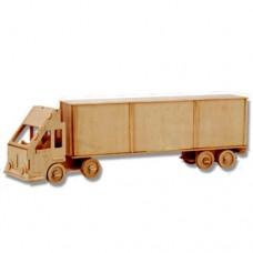 Bouwpakket Truck met Oplegger