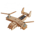 Bouwpakket Vliegtuig op zonne-energie