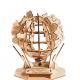 Bouwpakket Globe op zonne-energie