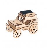 Bouwpakket Jeep op zonne-energie