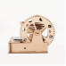 Bouwpakket Knikkerbaan Spiraal Hybride op Zonne-energie en batterij- hout